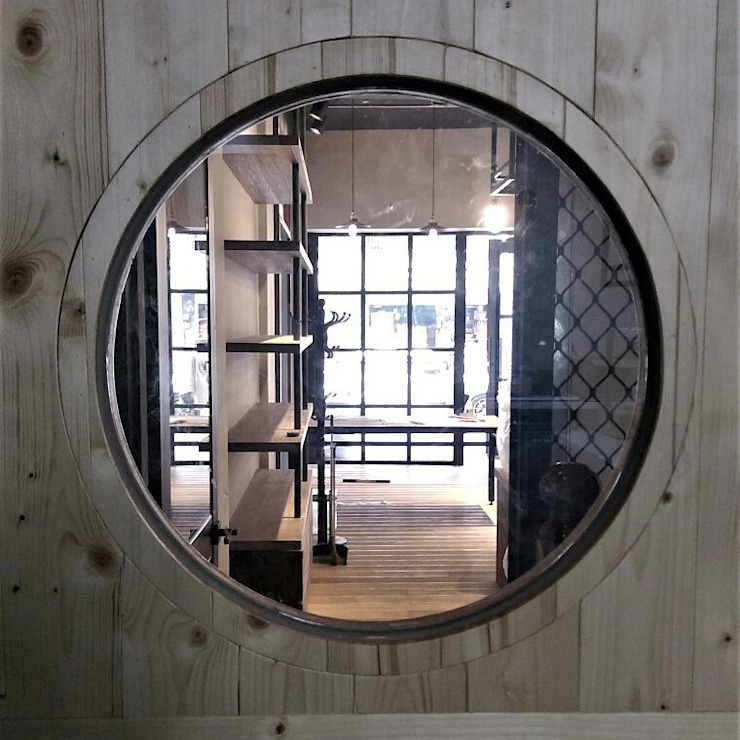 Industrial style windows & doors by 喬克諾空間設計 Industrial