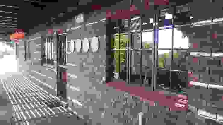 Braai area by Bibby Interior Design