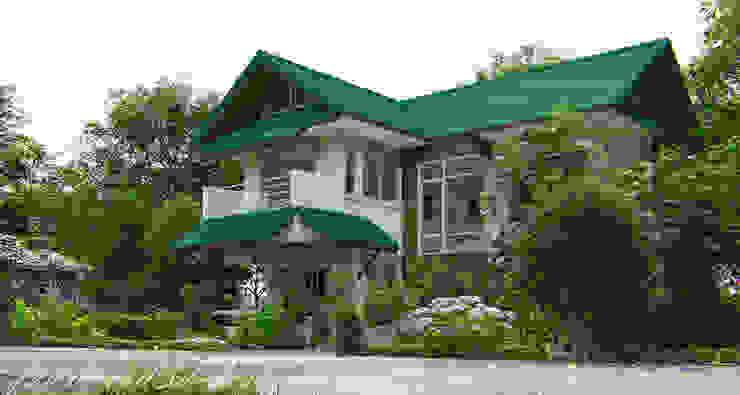 แบบบ้านต้นแสง โดย fewdavid3d-design ผสมผสาน