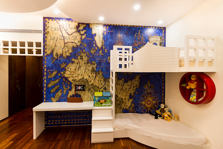 Kids room homify Modern nursery/kids room