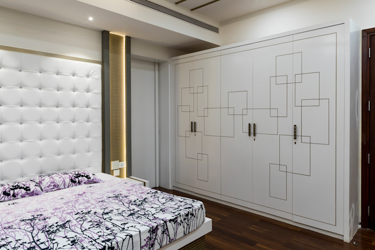 Modern dressing room by homify Modern