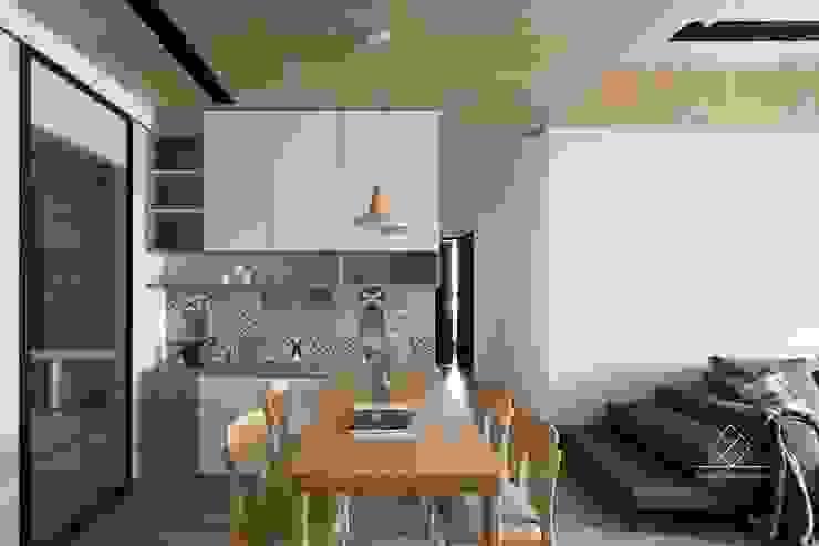 餐廳設計 根據 極簡室內設計 Simple Design Studio 北歐風