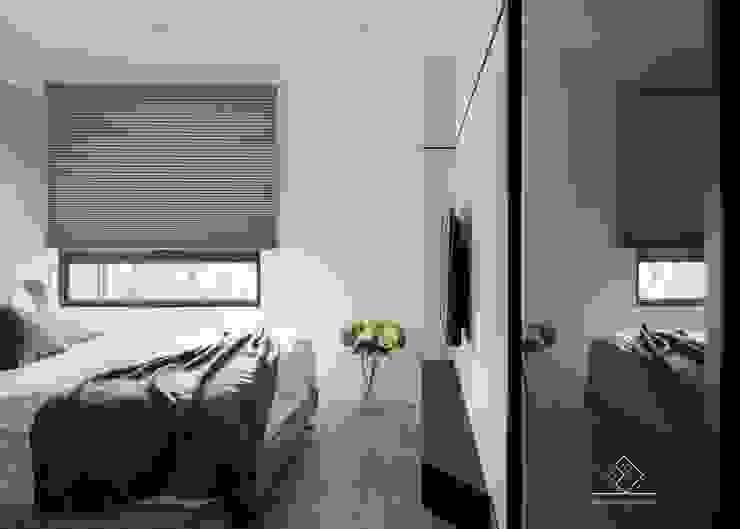 主臥室設計 根據 極簡室內設計 Simple Design Studio 北歐風