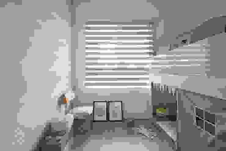 極簡室內設計 Simple Design Studioが手掛けた子供部屋, 北欧