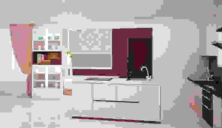 Island Kitchen Modern kitchen by homify Modern