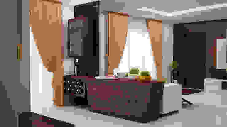 Bar unit Modern dining room by homify Modern
