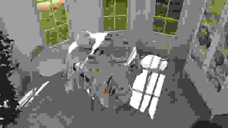 Salas de jantar modernas por Blophome Moderno