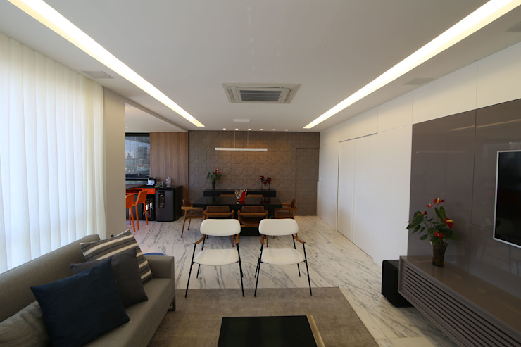 AP FC Modern Living Room by Mutabile Arquitetura Modern