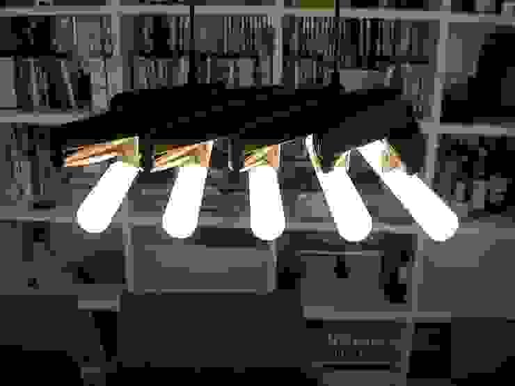 schüller.innenarchitektur Study/officeLighting Synthetic Black