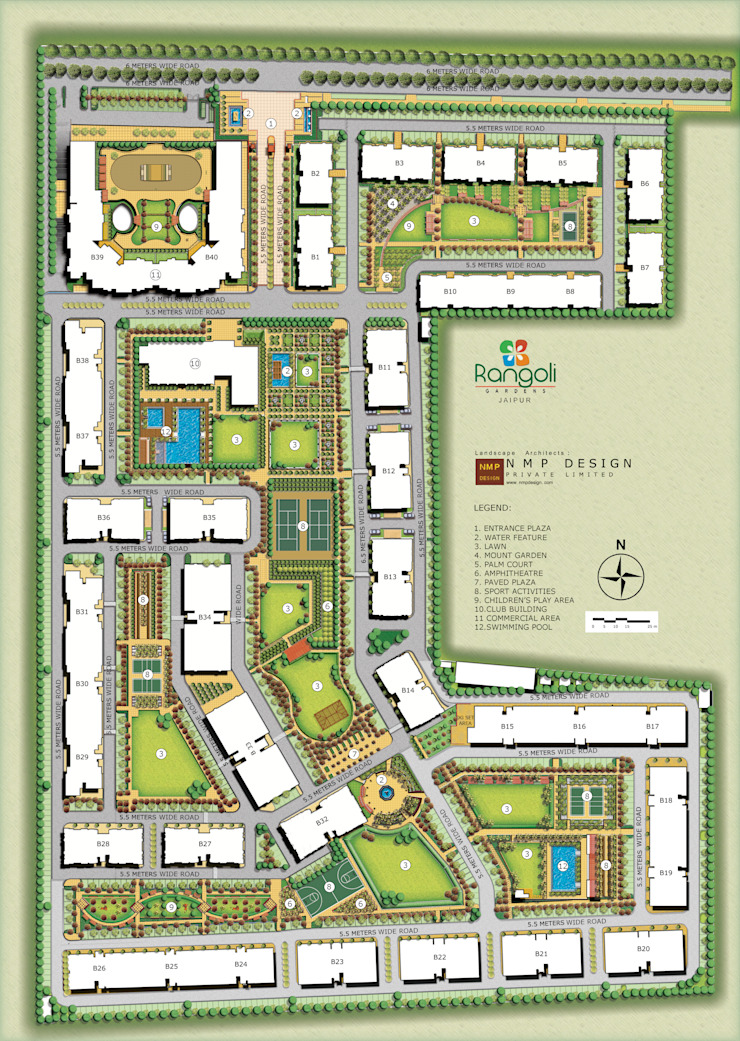 Master Plan Modern houses by NMP Design Modern