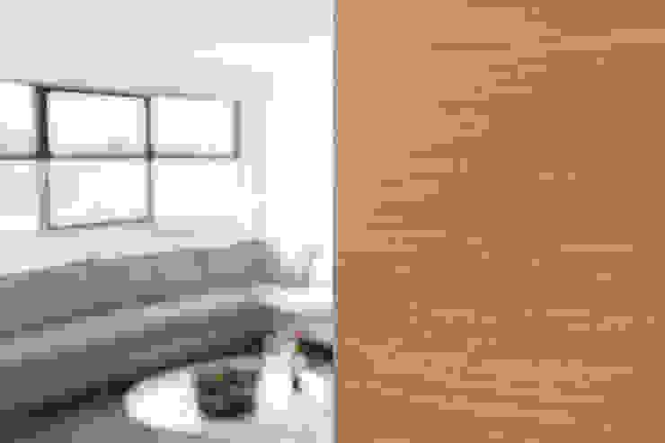 Sfeerbeeld Moderne woonkamers van De Nieuwe Context Modern Hout Hout