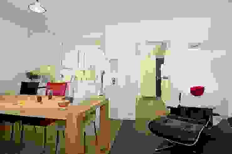 Wohnen Minimalistische Wohnzimmer von schüller.innenarchitektur Minimalistisch Holz Holznachbildung
