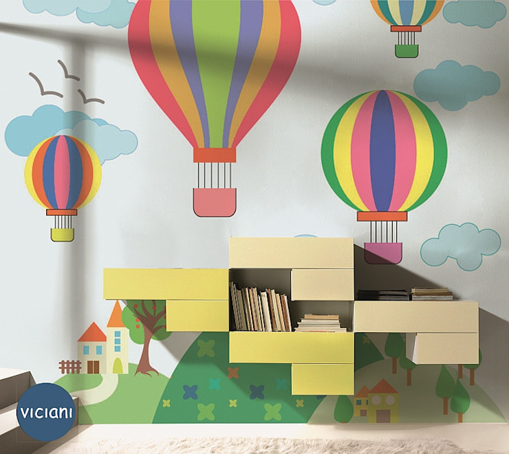 Modern walls & floors by VICIANI Modern