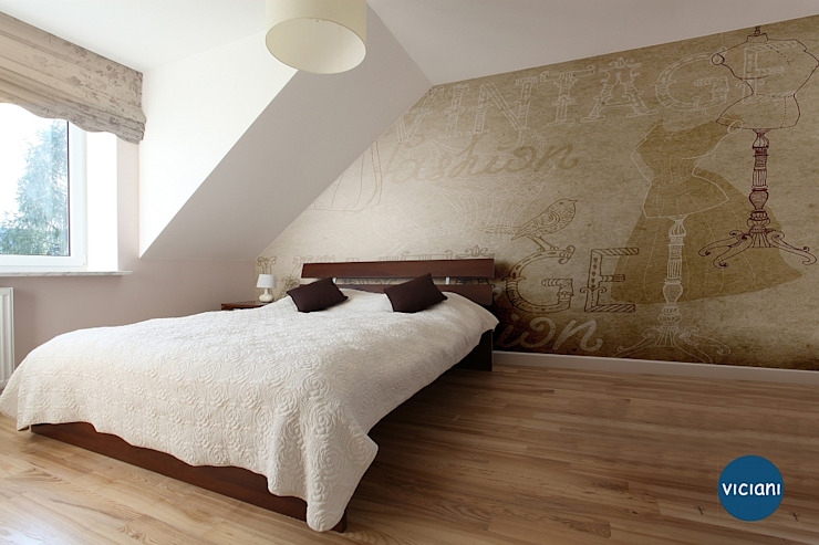 Modern style bedroom by VICIANI Modern