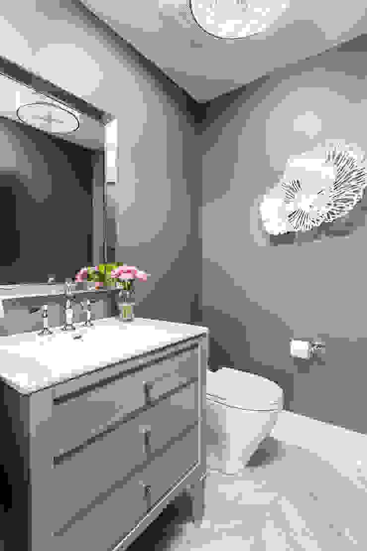 Powder Room Modern bathroom by Frahm Interiors Modern