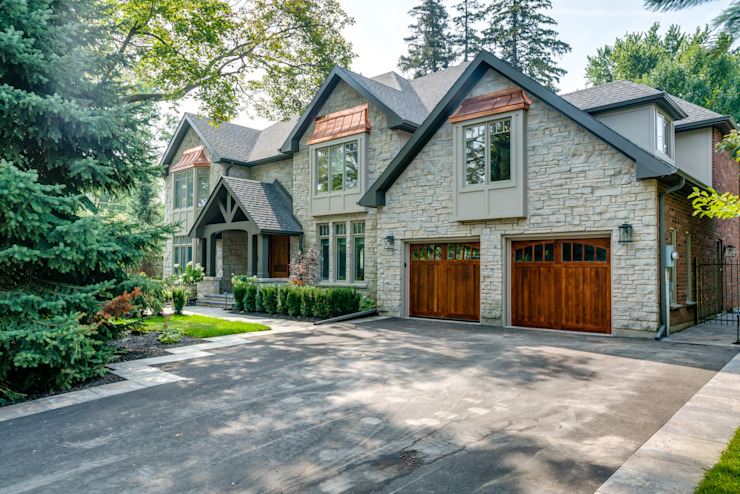 Classic exterior Classic style houses by Frahm Interiors Classic