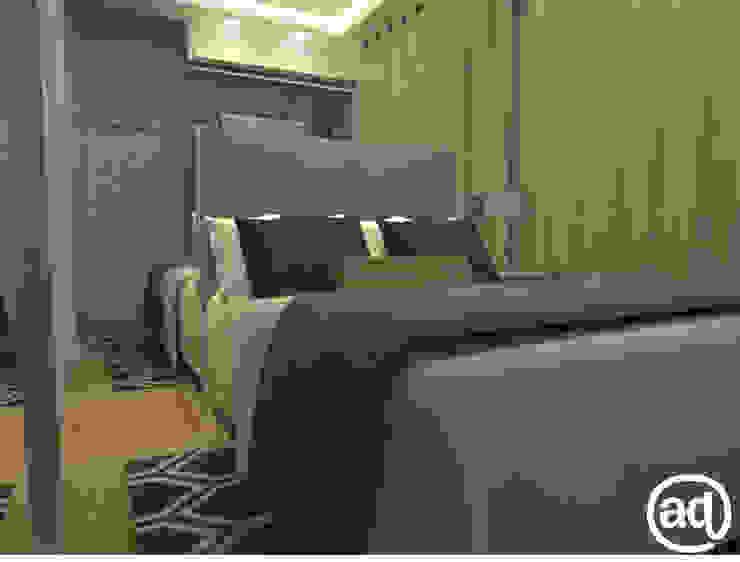 Attitude Minimalistische Schlafzimmer Grau