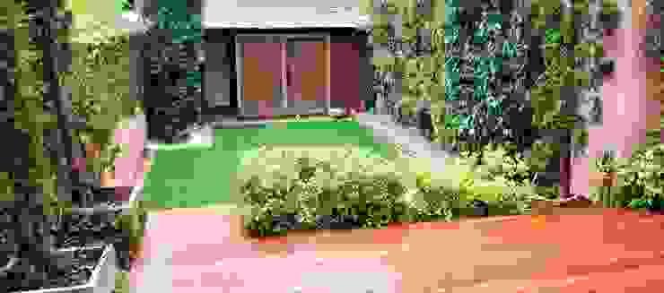 jardin Barcelona - Maresme ecojardí Jardines de estilo clásico Madera