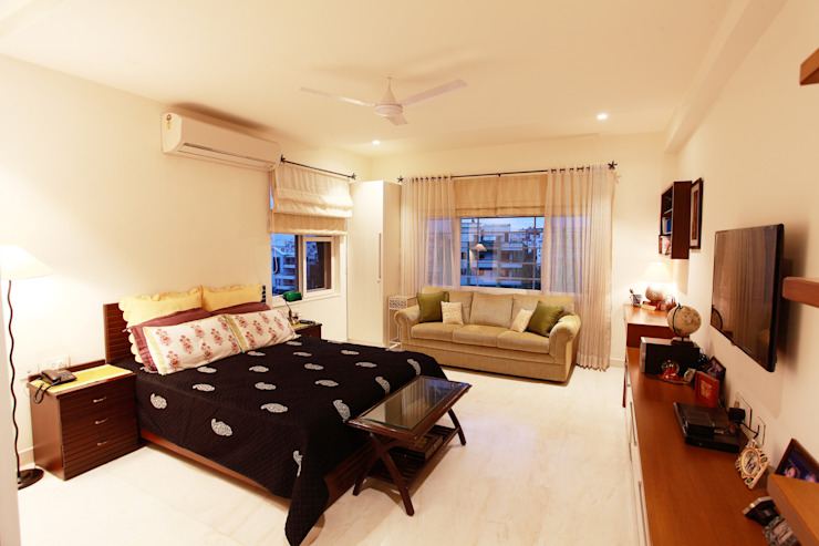Saloni Narayankar Interiors Modern style bedroom
