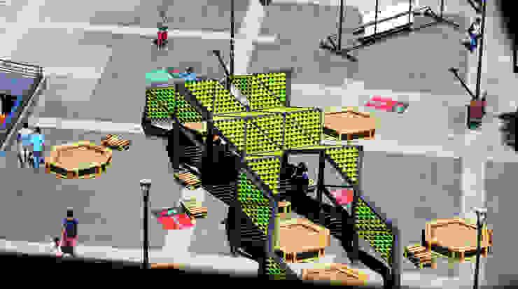 Reptilia Festival de las Artes 2014 de Tetralux Arquitectos Ecléctico