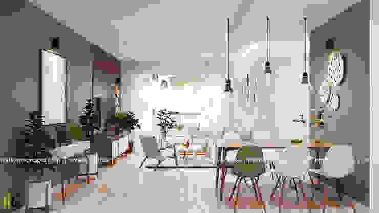Ruang Keluarga oleh Nội Thất Hoàng Gia