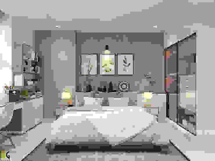 غرفة نوم تنفيذ Nội Thất Hoàng Gia, إسكندينافي