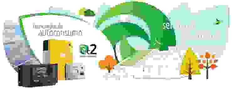 Oficinas y tiendas de estilo industrial de EC2+Energias Industrial