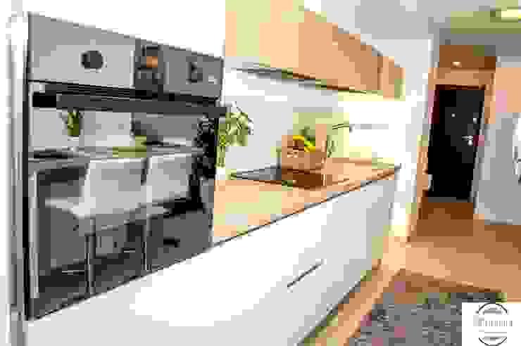 現代廚房設計點子、靈感&圖片 根據 GIOInterni 現代風