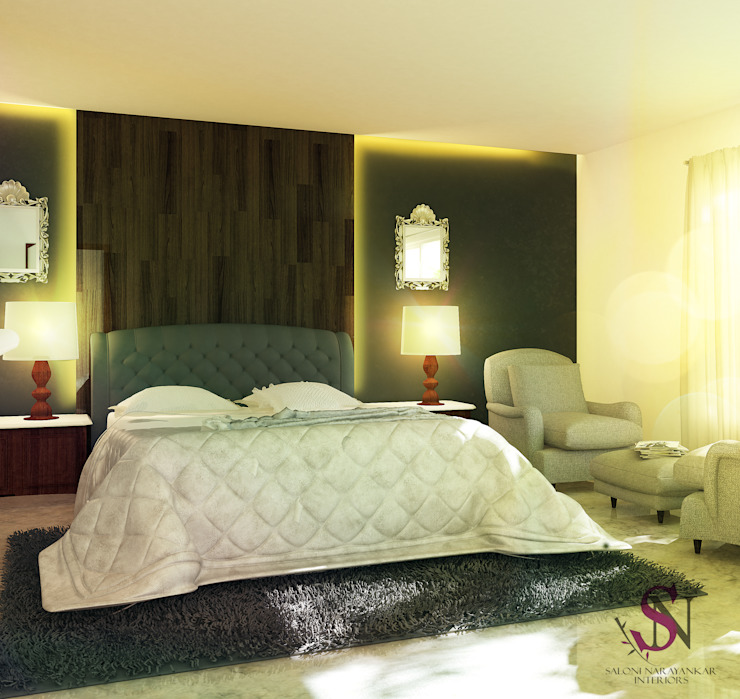 Simple Bedroom Wall Decor Bedroom Wall Decor Ebay Contemporary Bedroom Cupboards Colours Of Bedroom Walls: 15 Cozy And Comfortable Bedrooms From Indian Homes