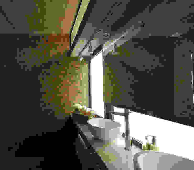 Baños de estilo minimalista de Besonías Almeida arquitectos Minimalista Concreto