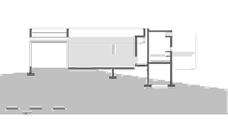 de Besonías Almeida arquitectos Minimalista