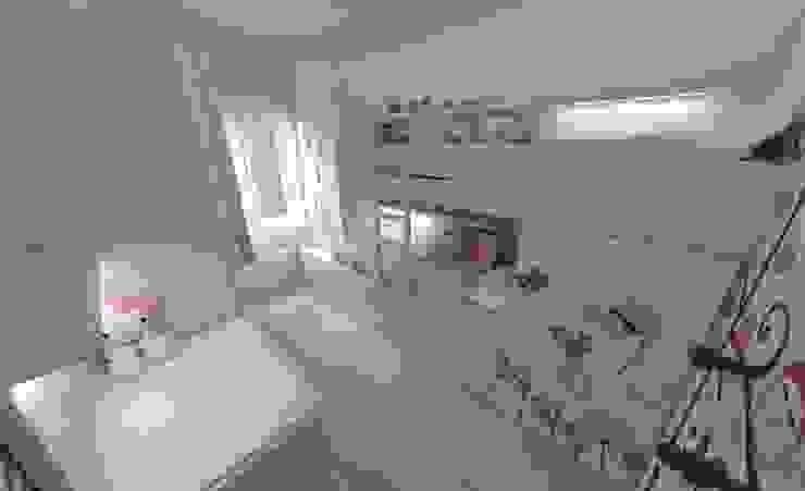 Aida tropeano& Asociados Дитяча кімната Інженерне дерево Білий