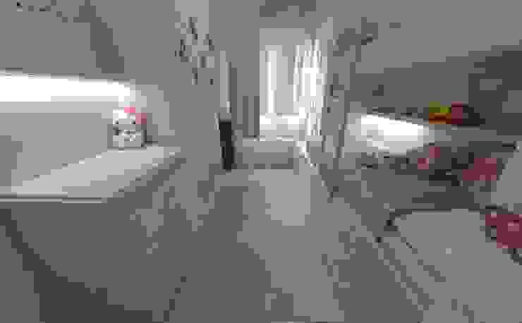 Aida tropeano& Asociados Спальня для дівчаток Дерево-пластичний композит Білий