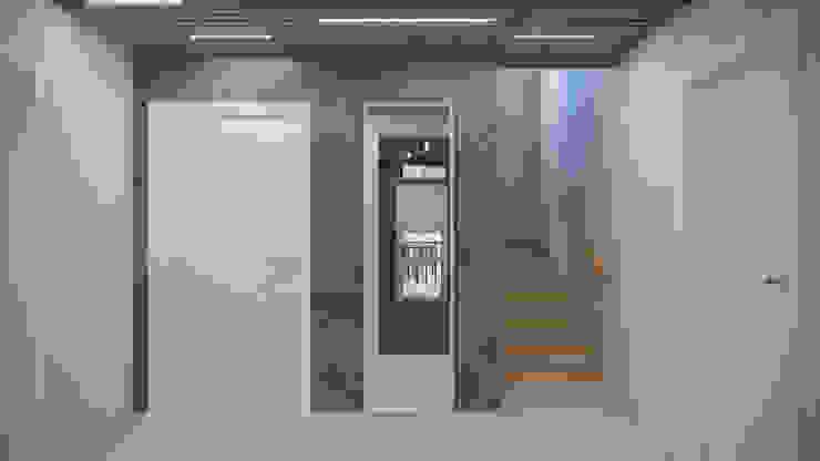 Pang-industriya na corridors estilo, Pasilyo & Hagdan by Оксана Мухина Industrial