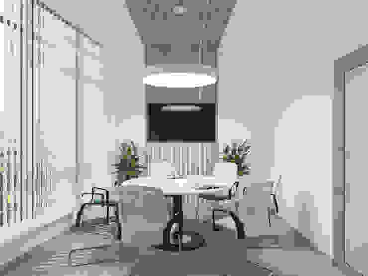 Edificios de oficinas de estilo minimalista de Оксана Мухина Minimalista