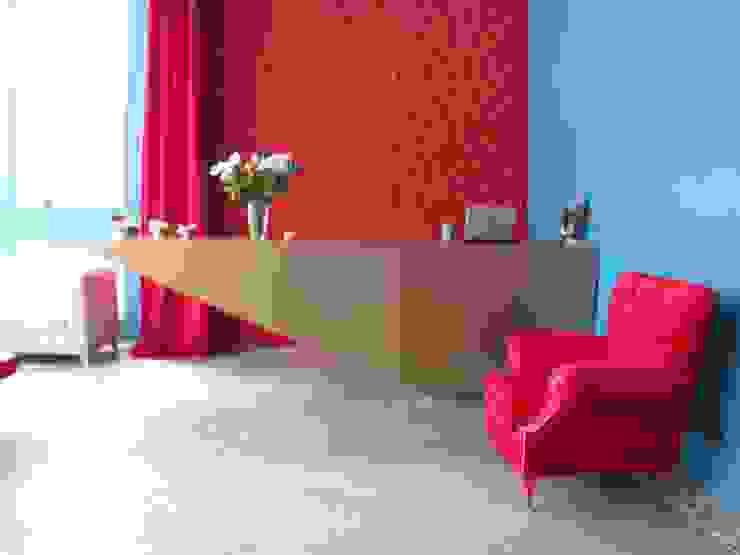 Mobiliario recepción de Domicilio Moderno