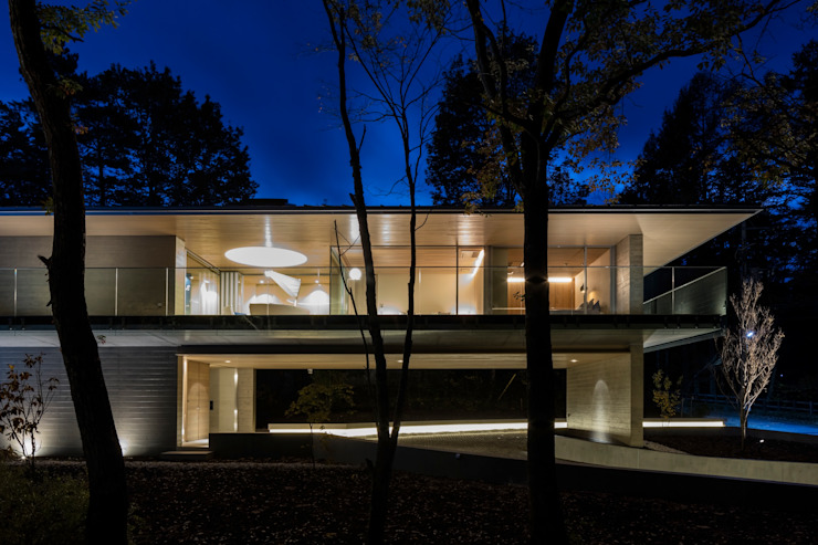 Modern houses by Mアーキテクツ|高級邸宅 豪邸 注文住宅 別荘建築 LUXURY HOUSES | M-architects Modern Concrete