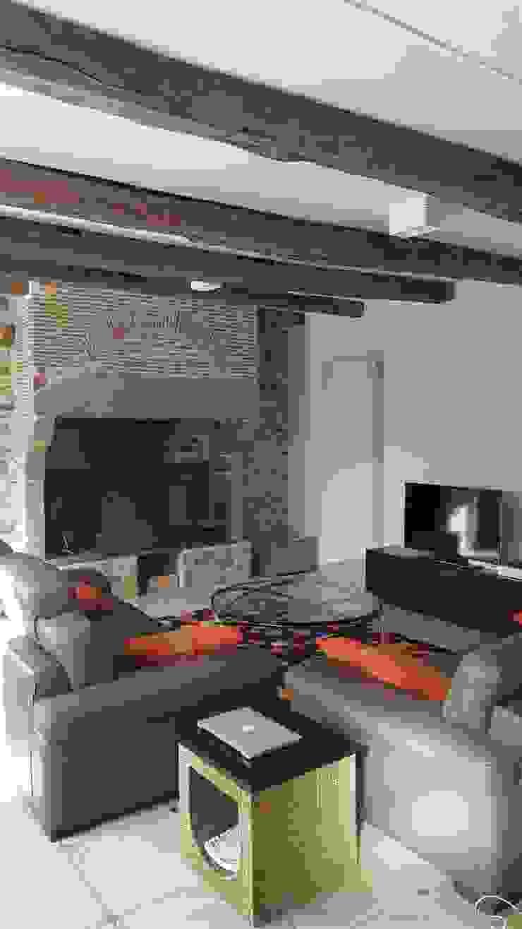 Maison à Landouge Jean-Paul Magy architecte d'intérieur Salon moderne