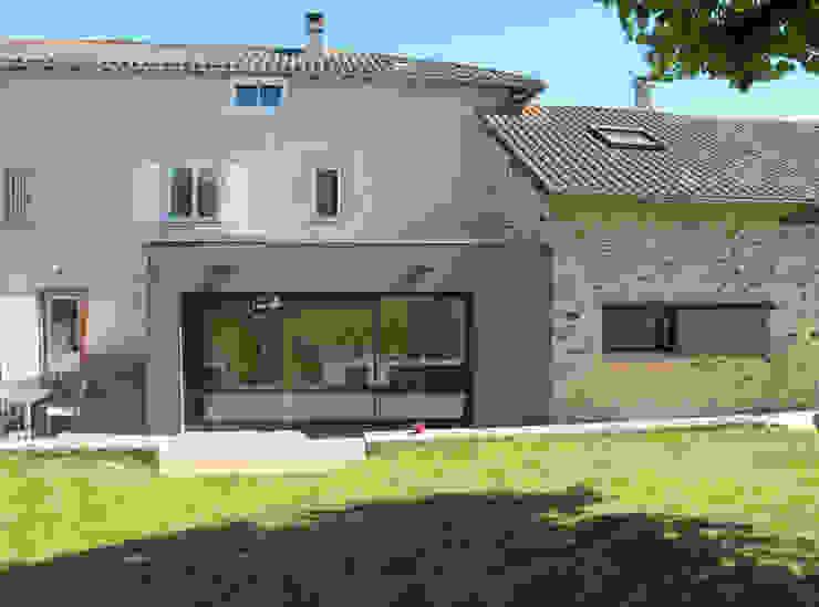 Maison à Landouge Jean-Paul Magy architecte d'intérieur Maison individuelle