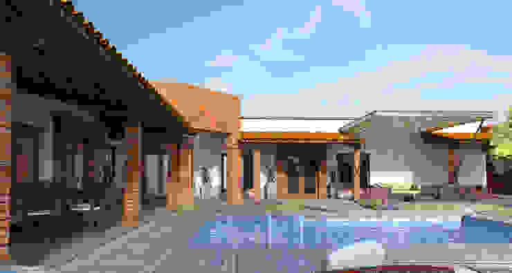by Acrópolis Arquitectura Rustic Bricks