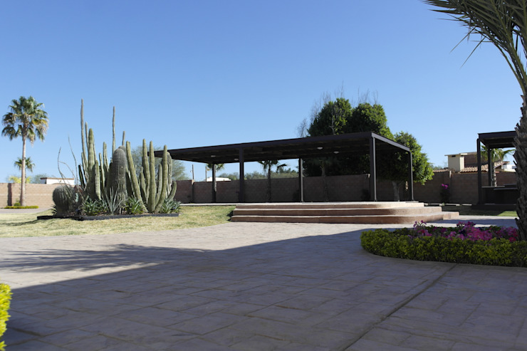 VISTA DE TERRAZA Casas minimalistas de Acrópolis Arquitectura Minimalista
