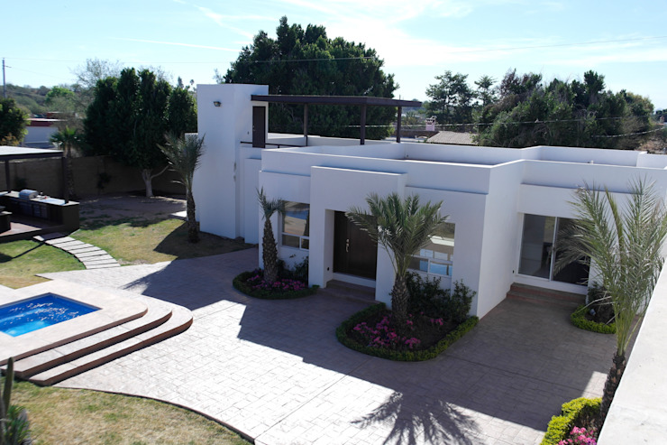 VISTA GENERAL Casas minimalistas de Acrópolis Arquitectura Minimalista