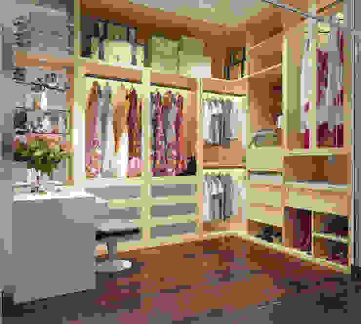 Modern dressing room by Công ty TNHH Xây Dựng TM – DV Song Phát Modern