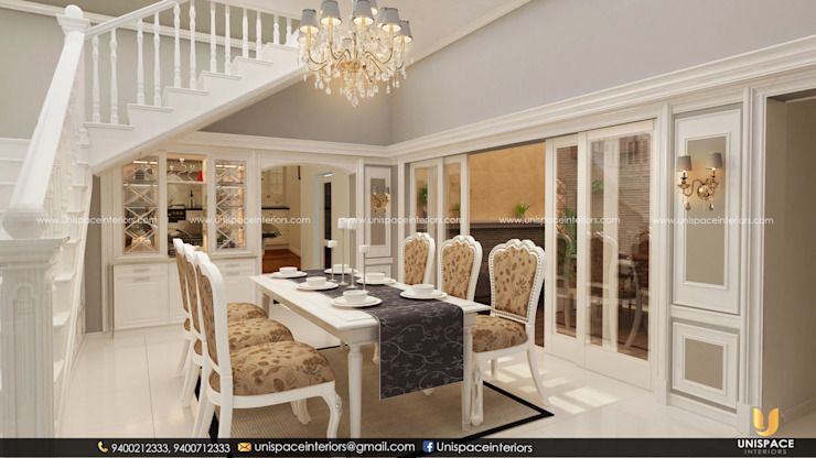 DINING VIEW by UNISPACE INTERIOR