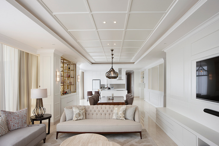Senopati Suites Apartment: Ruang Keluarga oleh High Street,