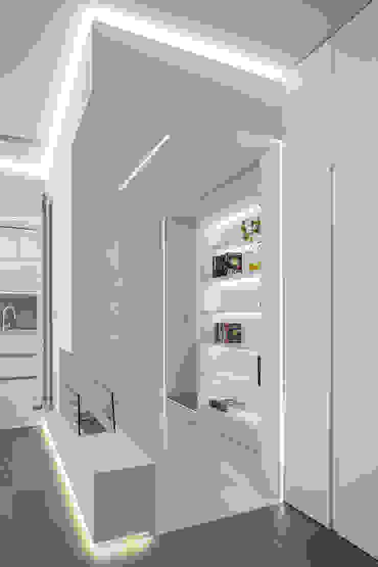 reforma vivienda en calle muelle torradoarquitectura Salones de estilo moderno