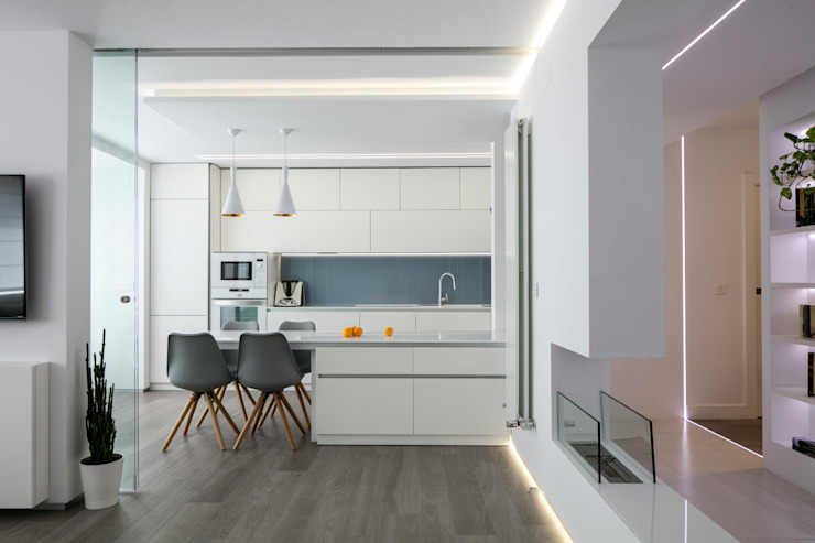 Kitchen by torradoarquitectura, Modern