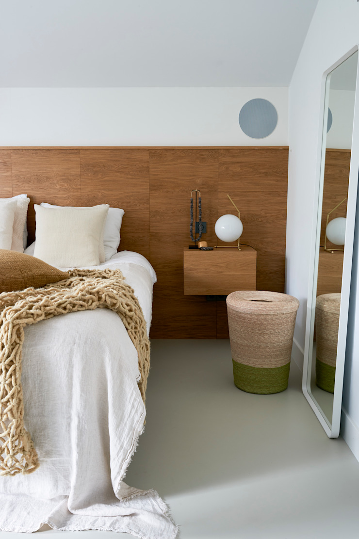 Woonhuis Amsterdam Moderne slaapkamers van Baden Baden Interior Modern