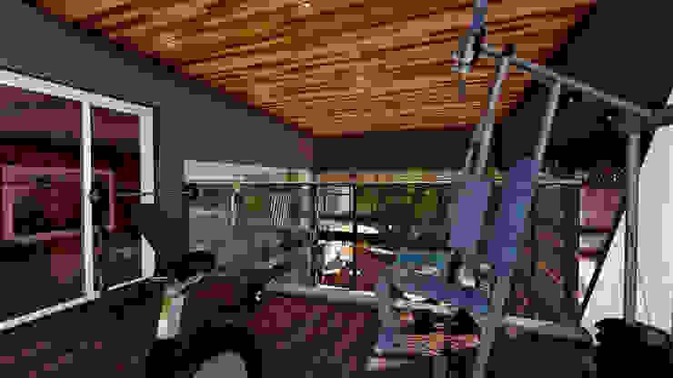 Casa AP Gimnasios domésticos modernos: Ideas, imágenes y decoración de Módulo 3 arquitectura Moderno