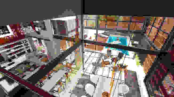 Casa AP Comedores modernos de Módulo 3 arquitectura Moderno